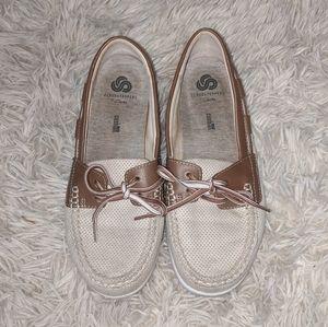 Clarks Cloud Stepper Soft Cushion Casual Boat Shoe